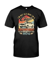 Classic Car - 46 Years Old Matching Birthday Tee  Premium Fit Mens Tee thumbnail