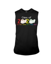 Class Of 2020 Year When Shit Got Real Graduation Sleeveless Tee thumbnail