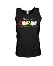 Class Of 2020 Year When Shit Got Real Graduation Unisex Tank thumbnail