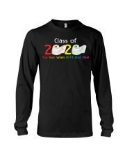 Class Of 2020 Year When Shit Got Real Graduation Long Sleeve Tee thumbnail