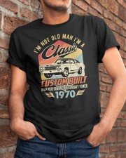 Classic Car - 50 Years Old Matching Birthday Tee  Classic T-Shirt apparel-classic-tshirt-lifestyle-26