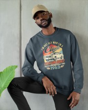 Classic Car - 58 Years Old Matching Birthday Tee  Crewneck Sweatshirt apparel-crewneck-sweatshirt-lifestyle-front-08