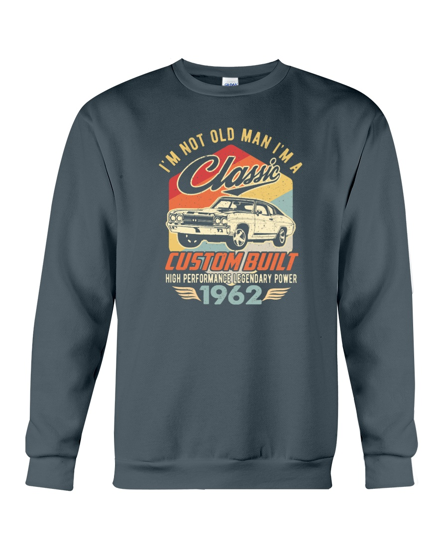 Classic Car - 58 Years Old Matching Birthday Tee  Crewneck Sweatshirt