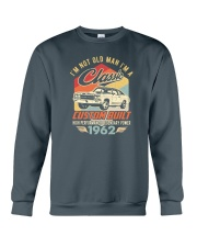Classic Car - 58 Years Old Matching Birthday Tee  Crewneck Sweatshirt front