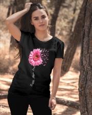 Faith Hope Love Pink Ribbon Daisy Flower Ladies T-Shirt apparel-ladies-t-shirt-lifestyle-06
