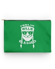 Feeling Willie Blessed St Patrick's Day Accessory Pouch - Standard back