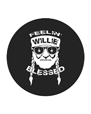 Feeling Willie Blessed St Patrick's Day Circle Coaster thumbnail