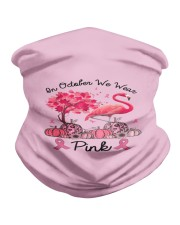 In October We Wear Pink Breast Cancer Flamingo Neck Gaiter thumbnail