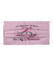 In October I Wear Pink For My Nonnie Cloth face mask thumbnail