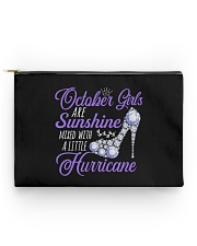 October Girls Are Sunshine Mixed With Hurricane Accessory Pouch - Standard thumbnail