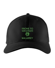 Vintage Prone To Shenanigans And Malarkey  Embroidered Hat thumbnail