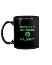 Vintage Prone To Shenanigans And Malarkey  Mug back