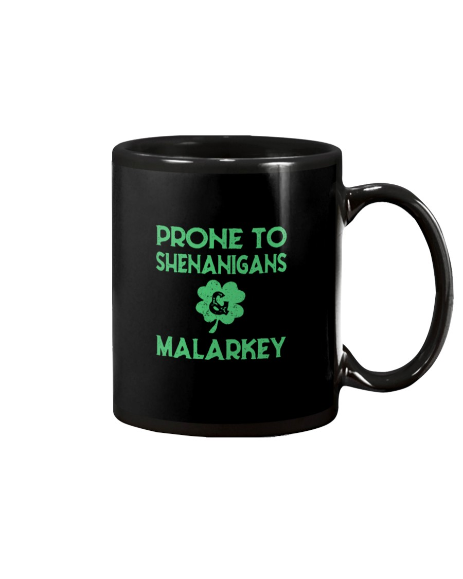 Vintage Prone To Shenanigans And Malarkey  Mug