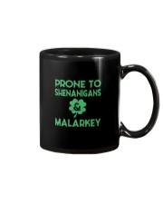 Vintage Prone To Shenanigans And Malarkey  Mug front