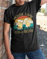Mouse Ears And Cold Beers - Funny Beer Drinking  Classic T-Shirt apparel-classic-tshirt-lifestyle-27