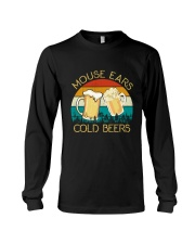 Mouse Ears And Cold Beers - Funny Beer Drinking  Long Sleeve Tee thumbnail