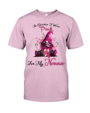 In October I Wear Pink For My Nonnie Gnome  Classic T-Shirt thumbnail