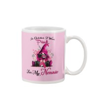 In October I Wear Pink For My Nonnie Gnome  Mug thumbnail