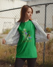 Lepricorn Leprechaun Unicorn Shamrock St Patrick' Classic T-Shirt apparel-classic-tshirt-lifestyle-07
