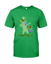 Lepricorn Leprechaun Unicorn Shamrock St Patrick' Classic T-Shirt front