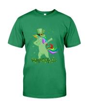 Lepricorn Leprechaun Unicorn Shamrock St Patrick' Premium Fit Mens Tee thumbnail