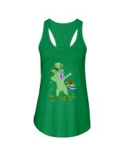 Lepricorn Leprechaun Unicorn Shamrock St Patrick' Ladies Flowy Tank thumbnail