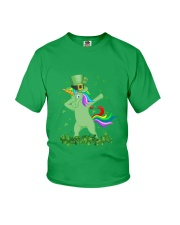 Lepricorn Leprechaun Unicorn Shamrock St Patrick' Youth T-Shirt thumbnail