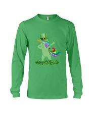 Lepricorn Leprechaun Unicorn Shamrock St Patrick' Long Sleeve Tee thumbnail