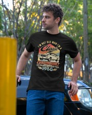 Classic Car - 60 Years Old Matching Birthday Tee  Classic T-Shirt apparel-classic-tshirt-lifestyle-front-44