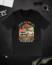 Classic Car - 41 Years Old Matching Birthday Tee  Classic T-Shirt lifestyle-mens-crewneck-front-16