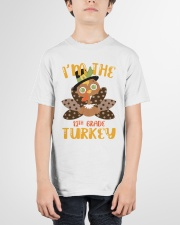 I'm The 12th Grade Turkey Thanksgiving Youth T-Shirt garment-youth-tshirt-front-01