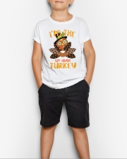 I'm The 12th Grade Turkey Thanksgiving Youth T-Shirt lifestyle-youth-tshirt-front-1