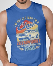 Classic Car - 52 Years Old Matching Birthday Tee  Sleeveless Tee garment-tshirt-tanktop-detail-front-chest-01
