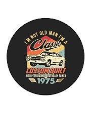 Classic Car - 45 Years Old Matching Birthday Tee Circle Coaster tile