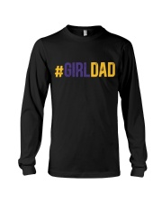 Girl Dad Father Of Daughter Father's Day Long Sleeve Tee thumbnail