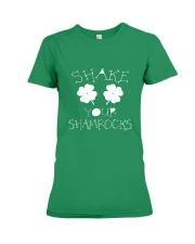 Shake Your Shamrock - St Patrick's Day  Premium Fit Ladies Tee thumbnail