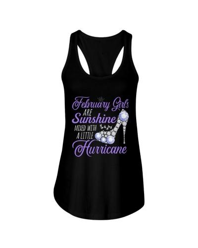 February Girls Are Sunshine Mixed With Hurricane