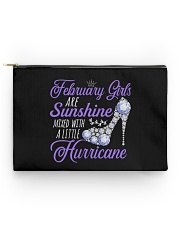 February Girls Are Sunshine Mixed With Hurricane Accessory Pouch - Standard thumbnail