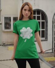 Vintage Irish Green Shamrock St Patrick's Day Classic T-Shirt apparel-classic-tshirt-lifestyle-19