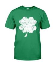 Vintage Irish Green Shamrock St Patrick's Day Premium Fit Mens Tee thumbnail
