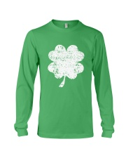 Vintage Irish Green Shamrock St Patrick's Day Long Sleeve Tee thumbnail