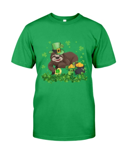 Irish Cute Sloth St Patrick's Day