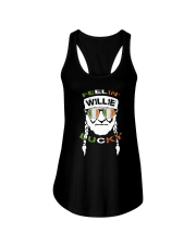 Feeling Willie Lucky Irish Flag St Patrick's Day Ladies Flowy Tank thumbnail