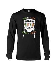Feeling Willie Lucky Irish Flag St Patrick's Day Long Sleeve Tee thumbnail