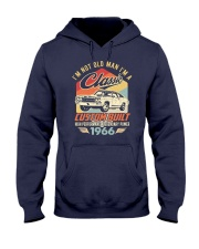 Classic Car - 54 Years Old Matching Birthday Tee  Hooded Sweatshirt front
