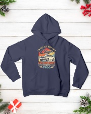 Classic Car - 54 Years Old Matching Birthday Tee  Hooded Sweatshirt lifestyle-holiday-hoodie-front-3