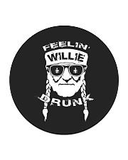 Feeling Willie Drunk St Patrick's Day Circle Coaster thumbnail