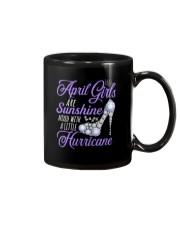 April Girls Are Sunshine Mixed With Hurricane Mug thumbnail