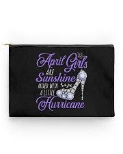 April Girls Are Sunshine Mixed With Hurricane Accessory Pouch - Standard thumbnail