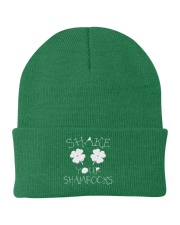 Shake Your Shamrock - St Patrick's Day Accessories Knit Beanie thumbnail